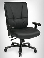 Office Star® Big & Tall Deluxe Executive Leather Office Chair