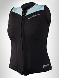 NeoSport™ Women's 2.5mm XSPAN® Front-Zip Sports Vest – Extended Sizes