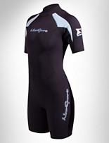 NeoSport™ Women's 3mm XSPAN® Back-Zip Shorties – Extended Sizes
