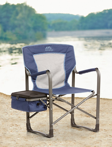 ALPS® Coastline Chair with Cooler/Side Table - Alps