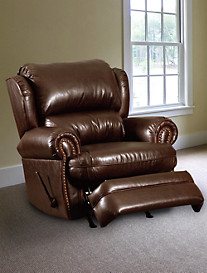 Lane® Furniture Hancock Leather Rocker Recliner