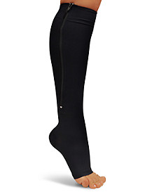 Easy On/Off Zipper Compression Socks