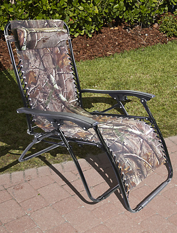 XL Camouflage Zero Gravity Chair | Outdoors