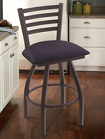 Holland Bar Stool Co. XL Jackie Black Swivel Stool