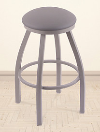 Holland Bar Stool Co. XL Misha Nickel Swivel Stool