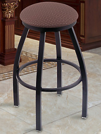 Holland Bar Stool Co. XL Misha Black Swivel Stool