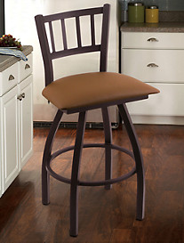 Holland Bar Stool Co. XL Contessa Black Swivel Stool
