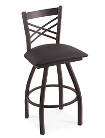 Holland Bar Stool Co. XL Catalina Black Swivel Stool