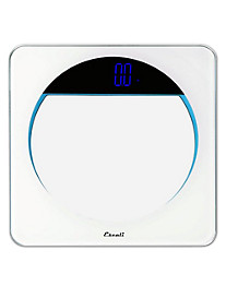 Escali® Lunar Blue Body Scale
