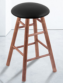 Holland Bar Stool Co. XL Maple Round Cushion Swivel Stool – Medium Finish