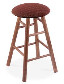 Holland Bar Stool Co. XL Maple Round Cushion Swivel Stool – Medium Finish