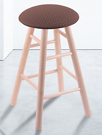 Holland Bar Stool Co. XL Maple Round Cushion Swivel Stool – Natural Finish