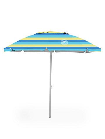 Caribbean Joe™ 7-Ft. Beach Umbrella with Canopy Vent - ( Misc. )