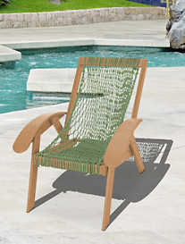 Pawleys Island Coastal Rope Chair