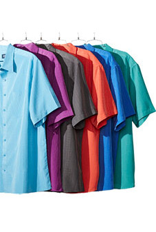 Short-Sleeve Microfiber Shirts