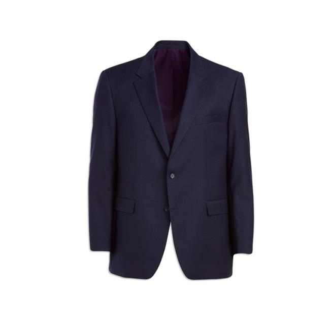 Jack Victor Reflex Mini Grid Stretch Suit Jacket