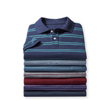 Short-Sleeve Pique Polos