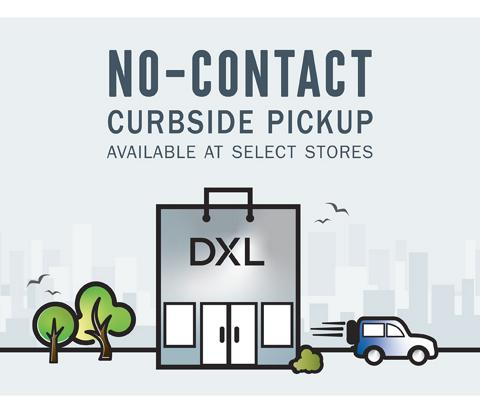 No-Contact Curbside Pickup Available at Select Stores