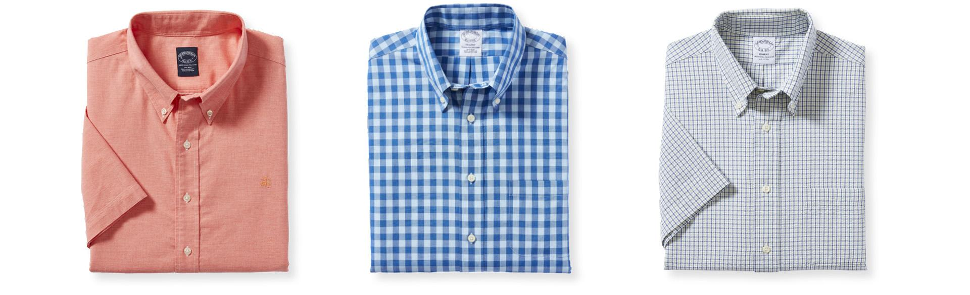 BROOKS BROTHERS CASUAL SHIRTS