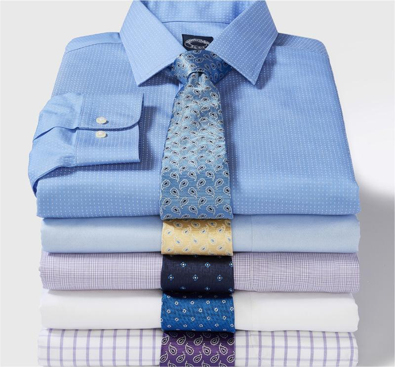Brooks Brothers Dress Shirts & Ties