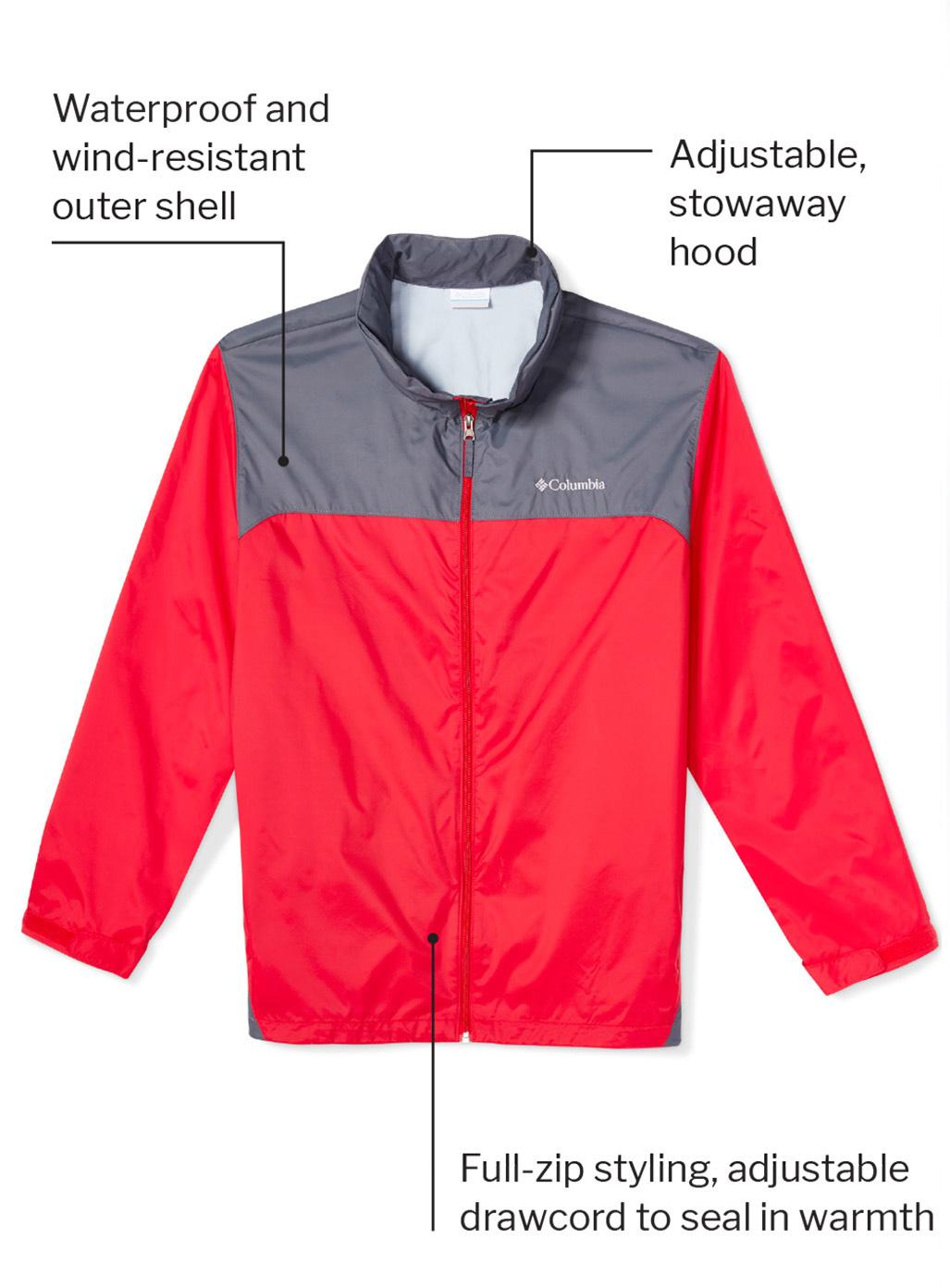 Columbia Omni-Shield Glennaker Rain Jacket