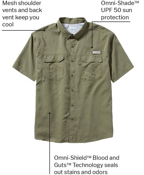 Columbia PFG Blood and Guts III Fishing Shirt