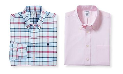 BROOKS BROTHERS LONG-SLEEVE CASUAL SHIRTS