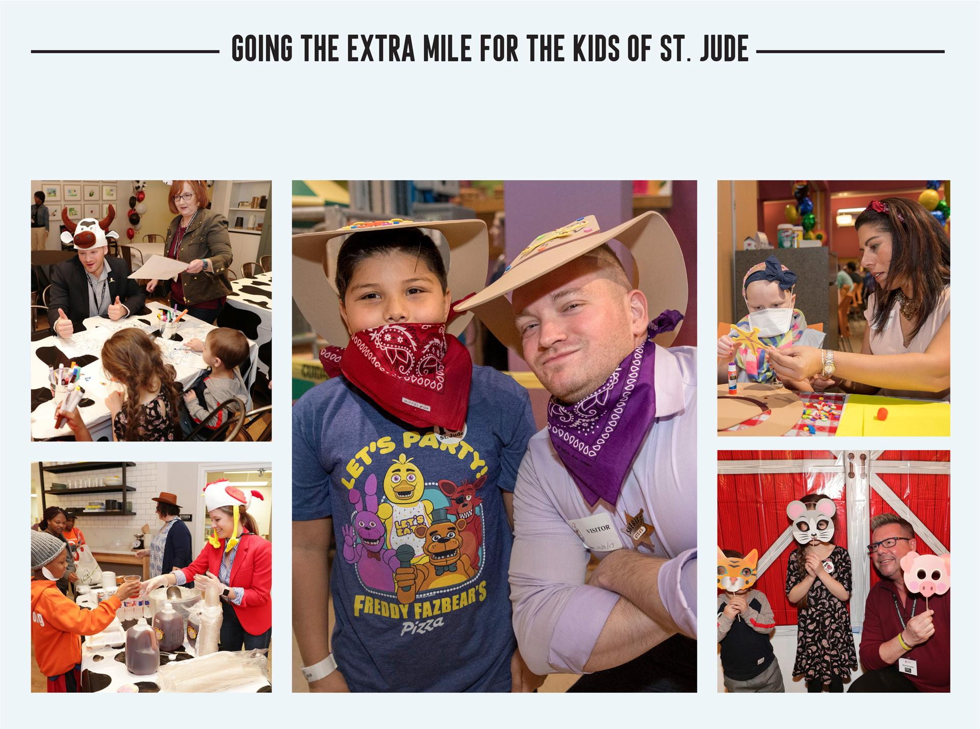 Going the extra mile for the kids of St. Jude
