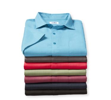 Short-Sleeve Microfiber Shirts
