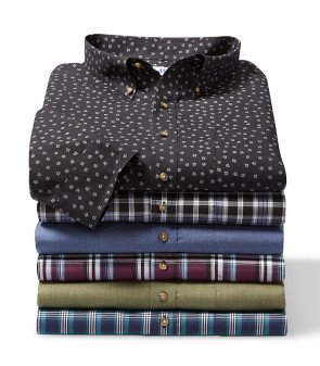 Easy-Care & More Pilot & Co-Pilot Long-Sleeve Shirt