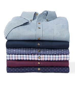 Easy-Care & More Pilot & Co-Pilot Short-Sleeve Shirts