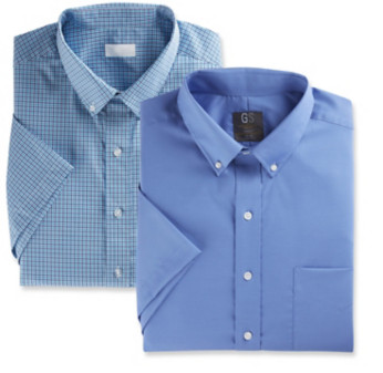 Gold Series & Synrgy Short-Sleeve Dress Shirts