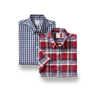 Brooks Brothers Short-Sleeve Casual Shirts