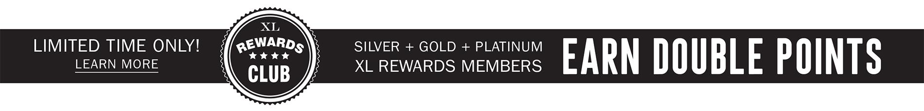 SILVER + GOLD + PLATINUM | EARN DOUBLE POINTS