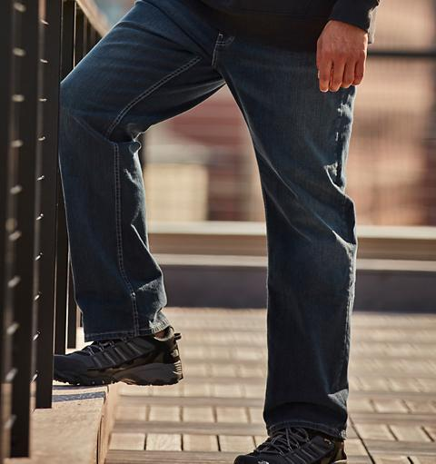 Men's Big & Tall Jeans are Built to Fit