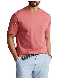 Polo Ralph Lauren Classic Fit Jersey Crewneck Pocket Tee