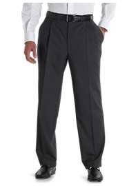 Jack Victor Nano Performance Double-Pleat Dress Trousers