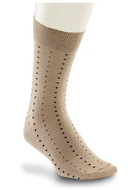 Harbor Bay Patterned Extra-Wide Socks
