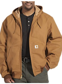 Carhartt Hooded Thermal-Lined Duck Active Jacket
