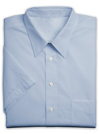 Silver Edition Neck-Relaxer Oxford Dress Shirt