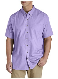Harbor Bay Easy-Care Solid Sport Shirt
