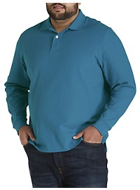 Harbor Bay Honeycomb Piqué Polo Shirt