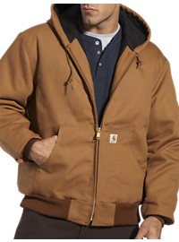 Carhartt Quilt Flannel-Lined Duck Active Jacket