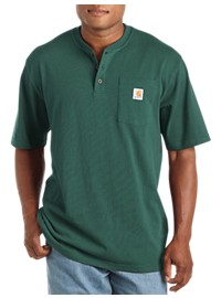 Carhartt Workwear Short-Sleeve Henley Shirt