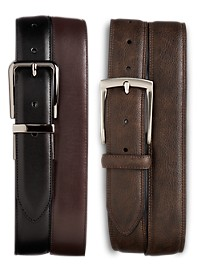 Harbor Bay 2-For-1 Leather Belts