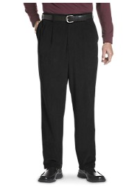 Oak Hill Waist-Relaxer Pleated Corduroy Pants
