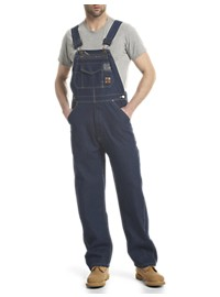 Berne Original Unlined Denim Bib Overalls