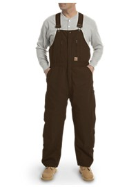 Berne Original Washed Insulated Duck Bib Overalls