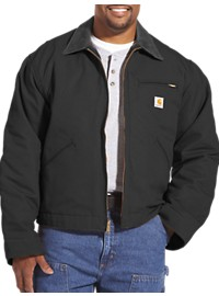 Carhartt Blanket-Lined Duck Detroit Jacket