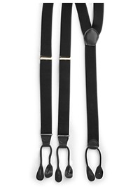 Harbor Bay Y-Back Button-On Suspenders Boxed Set